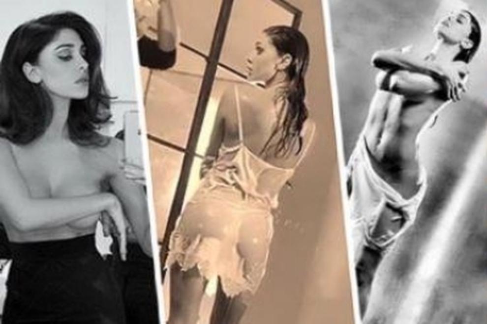 Calendario Belen Nuda.Belen Nuda Il Video Del Backstage Bollente Finisce Su Instagram