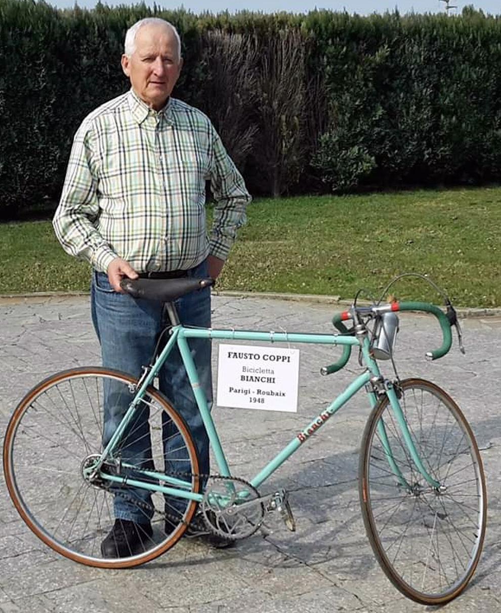 Ritrovata La Bici Di Fausto Coppi Lhanno Lasciata Legata A Un Palo