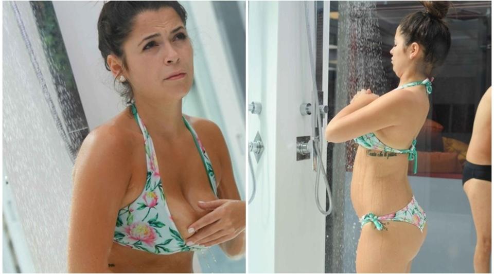 Alessia Macari Calendario.Grande Fratello Vip Per Alessia Macari Un Incidente Hot