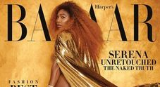 Serena Williams senza ritocchi  su Harper's Bazaar /Guarda