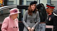 Kate Middleton e la Regina Elisabetta per la prima volte sole all'evento ufficiale