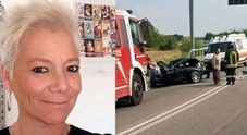 Sara Paccagnella e la scena dell'incidente