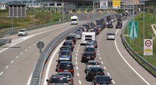 "Week-end ""bollente"" in autostrada: traffico molto intenso su A4 e A57"