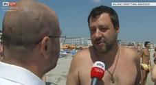 Riparte l'estate a torso nudo di Salvini
