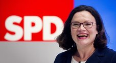 Germania, a Nahles la guida dell'Spd: prima donna presidente
