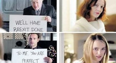 I cartelli come nel film Love actually: mossa di Boris Johnson per sedurre i britannici