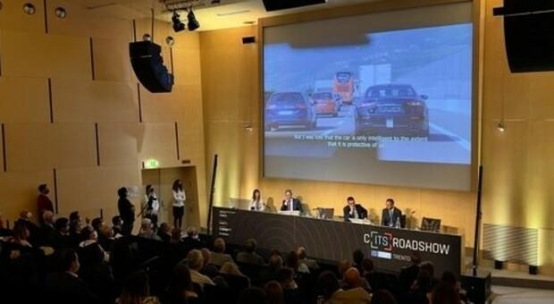 La presentazione, a Trento, del progetto C-Roads Italy