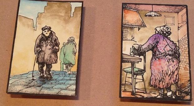 La mostra dei primi lavori di Mattotti a Casa Cavazzini