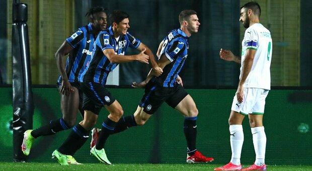 Diretta Atalanta-Sassuolo 0-0: Gasperini cerca la prima vittoria in casa