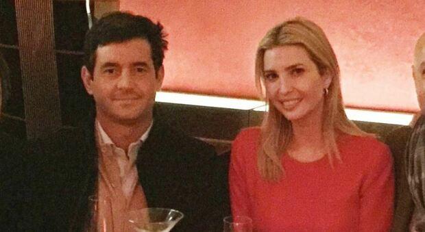 IL BROKER Nicolò Svizzero insieme alla figlia di Trump