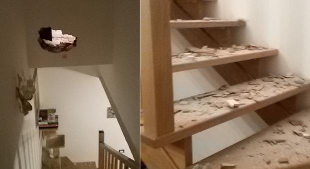 Ladri a casa in pieno giorno: sfondano muro e svuotano cassaforte