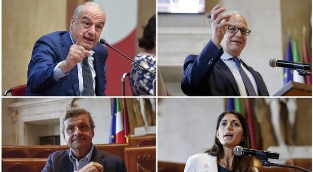 Comunali Roma, Michetti avanti: Gualtieri in pole al ballottaggio. Il sondaggio Swg per il Messaggero