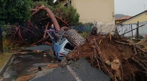 Maltempo, temporali in Liguria e tromba d'aria in Toscana: sindaci valutano chiusura delle scuole