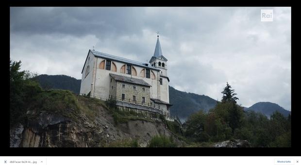 La chiesa in bilico nella fiction su Raiuno