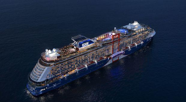 Da Civitavecchia la crociera inaugurale della Celebrity Edge, prima nave creata in 3D