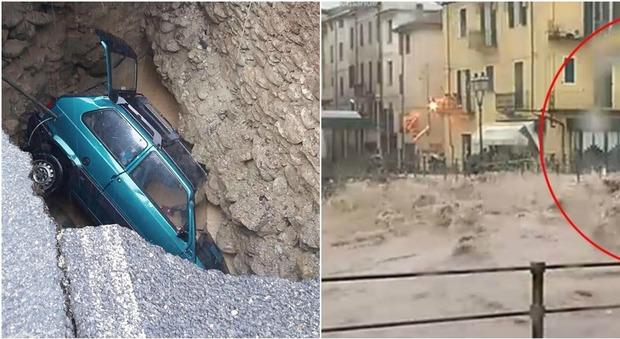 Maltempo sul nord Italia: sfollati in Liguria, in Piemonte esonda il Tanaro