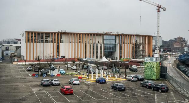 Il cantiere del nuovo Centro Congressi di Padova