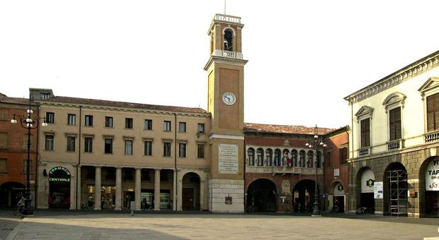 Palazzo Nodari, sede del Comune di Rovigo: si prepara il sistema di verifica dei Green pass