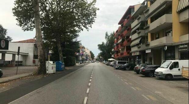 Via Vizzotto a San Donà di Piave
