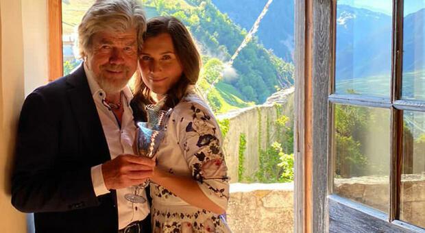 Reinhold Messner e Diane Schumacher