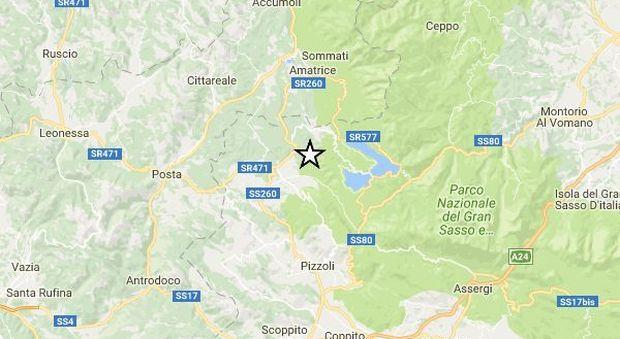 Terremoto, scossa nell'Aquilano di magnitudo 4.4