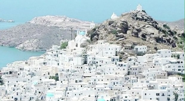L'isola greca di Ios