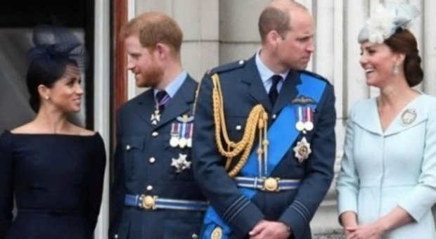 William e Kate, lezioni di stile a Harry Megan: in viaggio con un low cost da 70 sterline