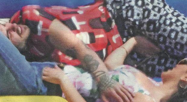 Giulia Salemi e Francesco Monte, vacanze bollenti in barca (Nuovo)