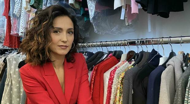 Caterina Balivo, cosa c'è nell'armadio: «Le décollétes di Carrie e un bel corno»