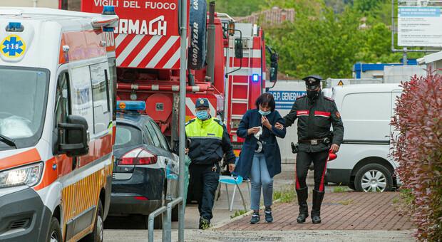 Monica Michielin, mamma di Mattia Battistetti, il 23enne morto in un terribile incidente sul lavoro in un cantiere di Montebelluna