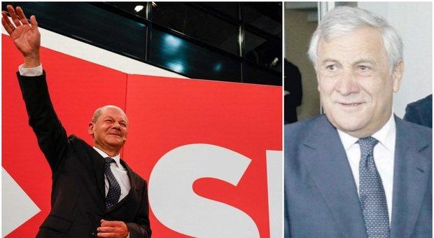 Voto in Germania, Tajani: «Adesso un'Europa più bilanciata non solo a trazione franco-tedesca»