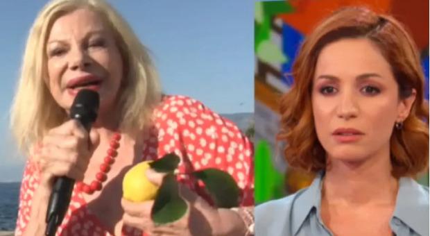 Sandra Milo non si presenta in collegamento a Vita in Diretta, poi spiega l'accaduto: «Aveva bisogno di me...»
