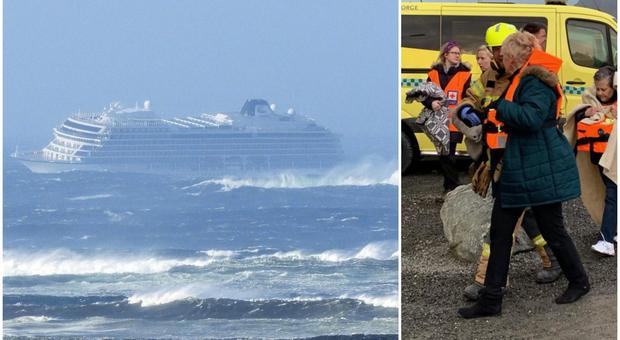 Norvegia 300 passeggeri su 1.300 evacuati dalla viking sky in