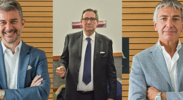 Giancarlo Galan e i due commercialisti Cristian Penso e Paolo Venuti