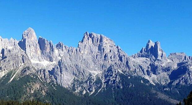 Alpinista veneto trovato morto sulle Pale di San Martino