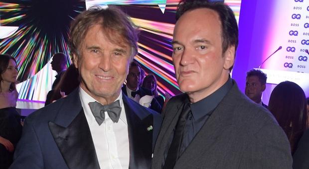Brunello Cucinelli con il regista Quentin Tarantino