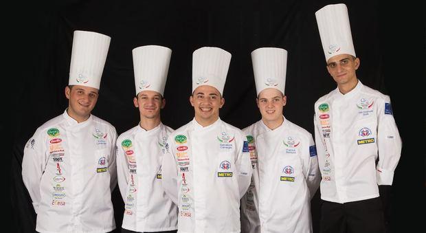 La Nazionale Italiana Cuochi ancora a caccia di podio. Al via le Olimpiadi di Cucina