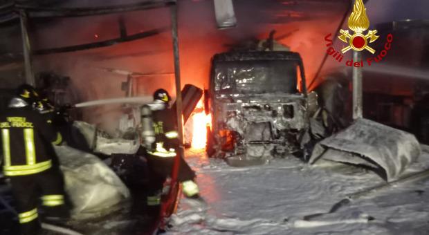 incendio a Chirignago