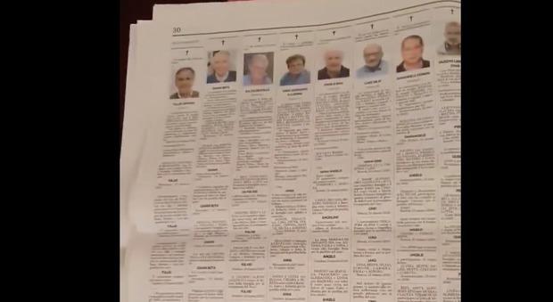 VIDEO IMPRESSIONANTE Il giornale di Bergamo con dieci ...