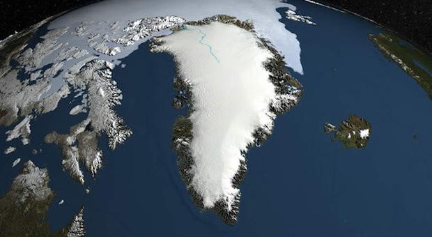 Groenlandia, la quantità di ghiaccio che si è sciolta martedì potrebbe ricoprire il Nord Italia