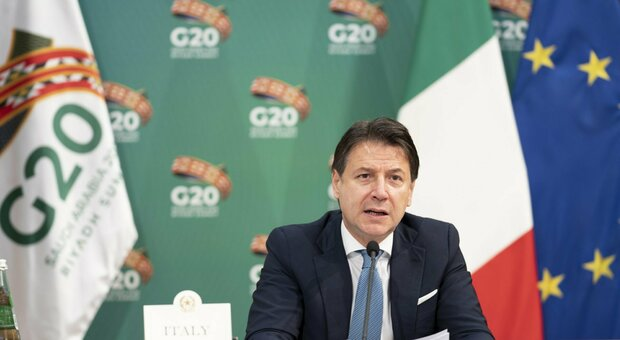 G20, Conte: Covid non freni la lotta sul clima, motore per la ripresa