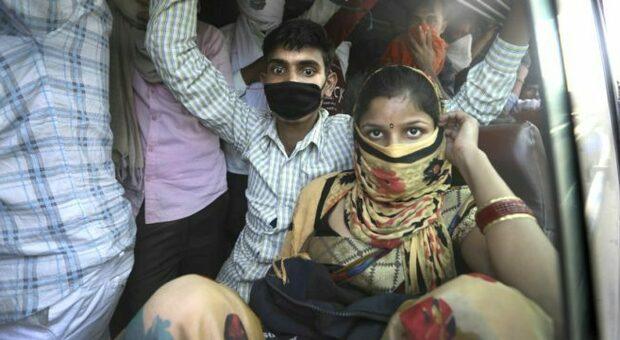 Un'immagine dell'India di questi giorni