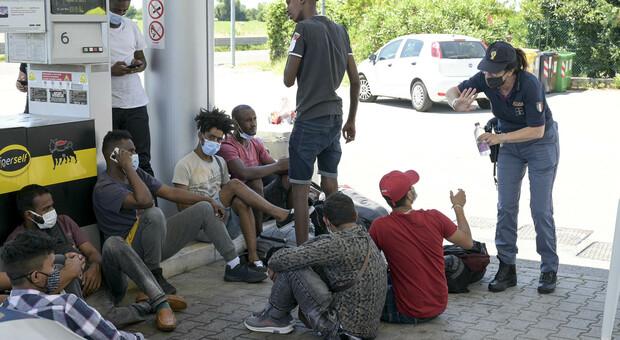 Clandestini rintracciati dalla polizia
