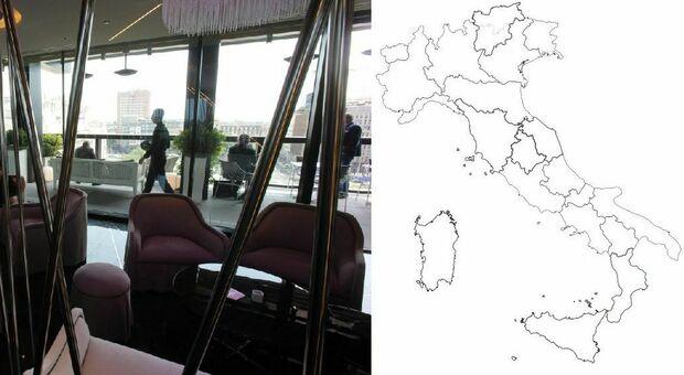 Zona gialla: Lazio, Sicilia e Sardegna a rischio (cambio colore possibile già a fine agosto)
