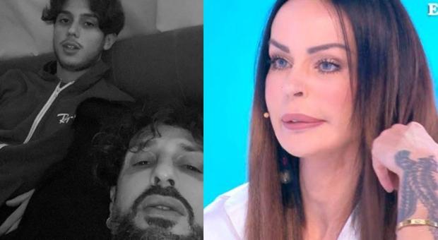 Fabrizio Corona, positivo al Covid, fa infuriare Nina Moric: «Carlos è andato da lui, ho chiamato il 112»
