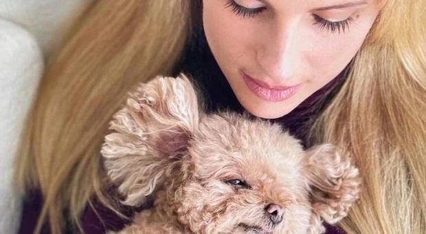 Michelle Hunziker e il commovente addio alla sua cagnolina Lilly: «Per sempre nel mio cuore»