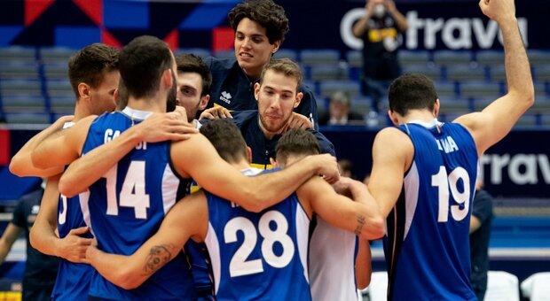Europei pallavolo, Italia-Lettonia 3-0: gli azzurri volano ai quarti di finale