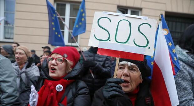 Ue, la Corte multi Varsavia, non rispetta misure sui giudici