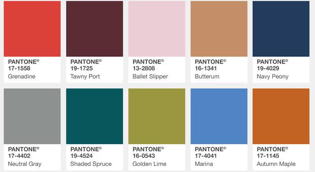 Armadio Rosso : Ecco i colori pantone per l autunno inverno guarda