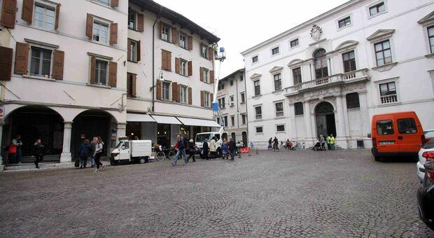 Piazza Marconi a Udine